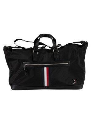 Tommy Hilfiger Clean Nylon Duffle Bag - Black
