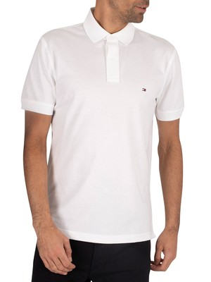 Tommy Hilfiger Core Regular Polo Shirt - White