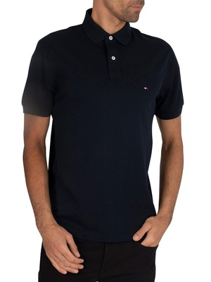 Tommy Hilfiger Regular Polo Shirt - Sky Captain