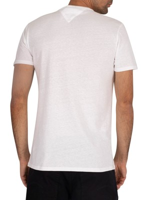 Tommy Jeans Original Triblend T-Shirt - Classic White
