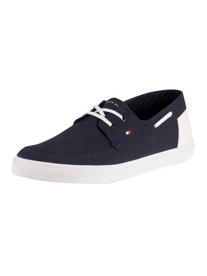 Tommy Hilfiger Seasonal Core Boat Shoes - Desert Sky