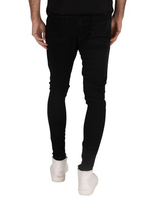 Religion Edge Ripped jeans - Black