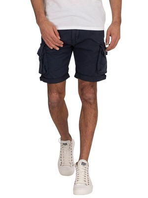 Alpha Industries Crew Cargo Shorts - Rep Blue