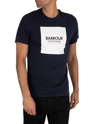 Barbour International Block Slim Fit T-Shirt - Navy