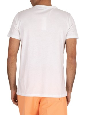 Calvin Klein Relaxed Crew T-Shirt - Classic White