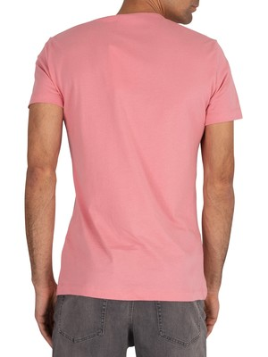 Calvin Klein Jeans Institutional Logo T-Shirt - Brandied Apricot