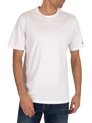 Carhartt WIP Base T-Shirt - White/Black