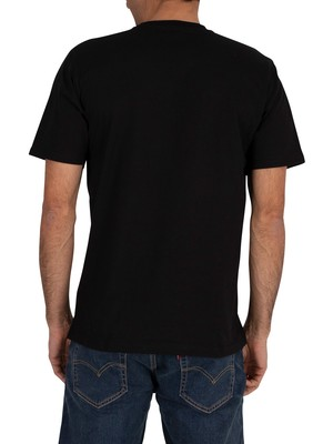 Carhartt WIP Base T-Shirt - Black/White