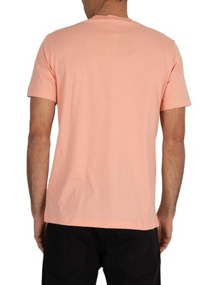 Champion Chest Logo T-Shirt - Pink