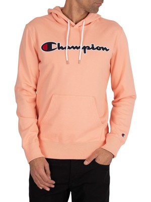 Champion Graphic Pullover Hoodie - Pink