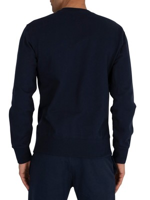 Champion Graphic Sweatshirt - Navy