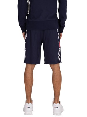 Fila Goa Shorts- Peacoat/White/Red