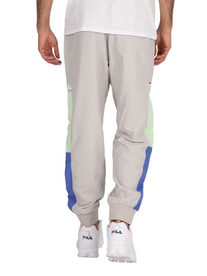 Fila Haywood Cut and Sew Stripes Joggers - Quiet Grey/Amparo Blue/Patina Green