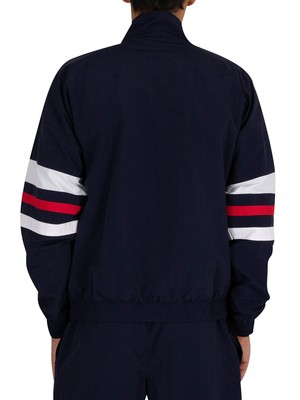 Fila Tyrell Colour Block Track Jacket - Peacoat/White/Red
