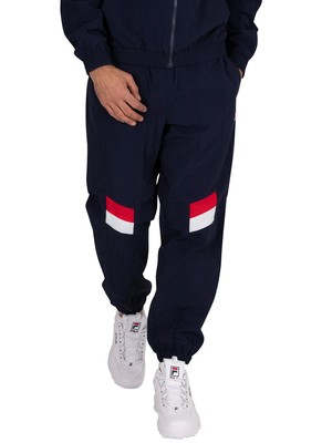 Fila Zaim Cut Sew Track Joggers - Peacoat/Red/White