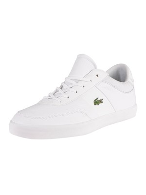 Lacoste Court-Master 120 5 CMA Leather Trainers - White