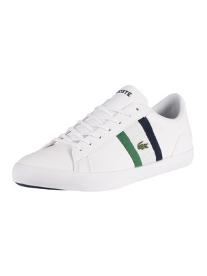 Lacoste Lerond 119 3 CMA Leather Trainers - White/Navy