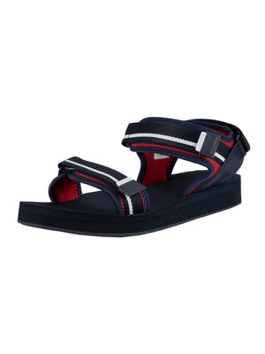 Lacoste Suruga 120 1 CMA Sandals - Navy/Red/White