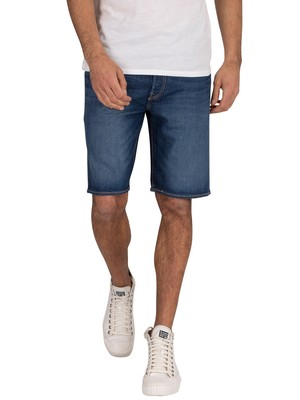 Levi's 501 Hemmed Denim Shorts - Roast Beef