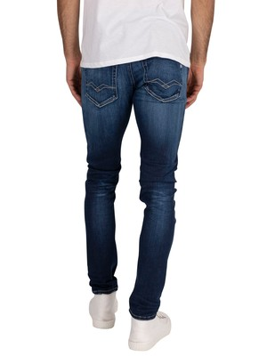 Replay Jondrill Hyperflex Bio Jeans - Blue