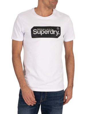 Superdry Core Logo Tag T-Shirt - Optic