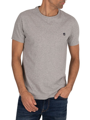 Timberland Dubstan River Slim T-Shirt - Light Grey