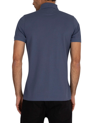 Tommy Hilfiger Slim Polo Shirt - Faded Indigo