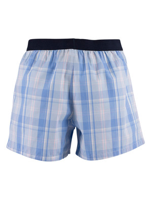 Tommy Hilfiger Woven Boxers - Seasonal Check White