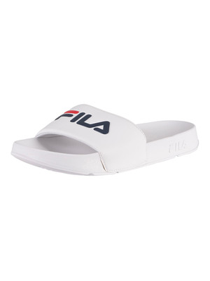 Fila Drifter Sliders - White