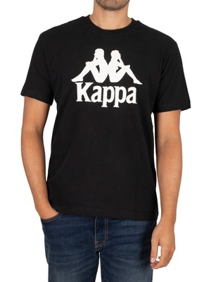 Kappa Authentic Tahiti T-Shirt - Black/White