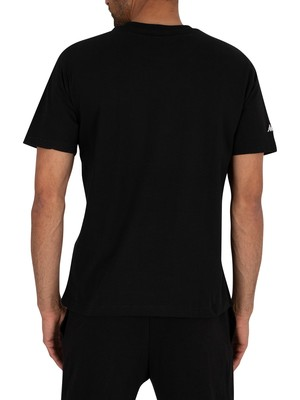 Kappa Authentic Taylor T-Shirt - Black/White