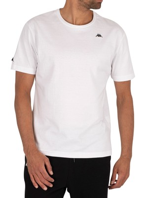 Kappa Authentic Taylor T-Shirt - White/Black