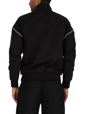 Kappa Authentic Turny Jacket - Black/White