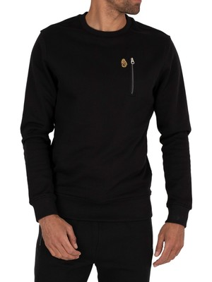 Luke 1977 Paris Sweatshirt - Jet Black