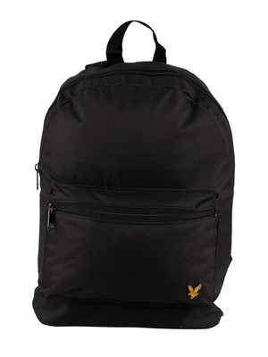 Lyle & Scott Logo Backpack - True Black