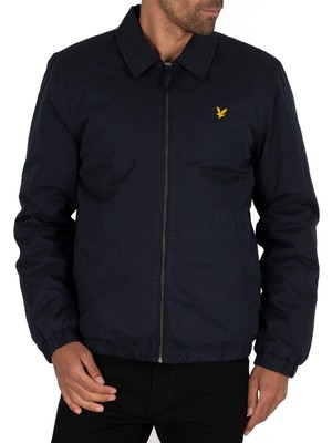 Lyle & Scott Wadded Harrington Jacket - Dark Navy