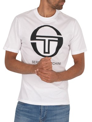 Sergio Tacchini Iberis Graphic T-Shirt - White/Black