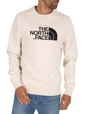 The North Face Drew Peak Sweatshirt - Vintage White/Black