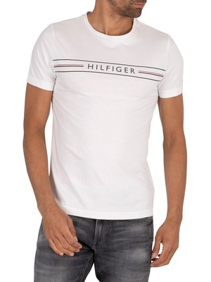 Tommy Hilfiger Corp T-Shirt - White