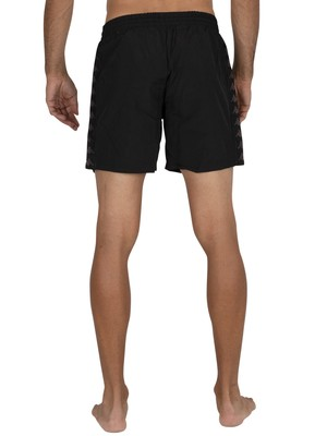 Kappa 222 Banda Coney Swim Shorts - Black/White