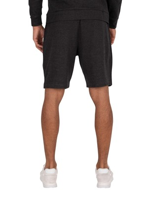 Lyle & Scott Lightweight Training Sweat Shorts - True Black Marl
