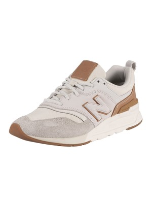 New Balance 997H Suede Trainers - Silver Birch