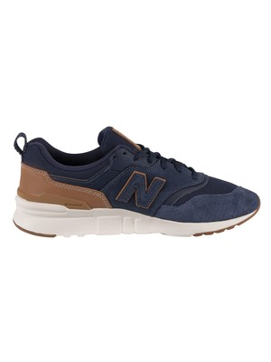 New Balance 997H Suede Trainers - Natural Indigo/Angora
