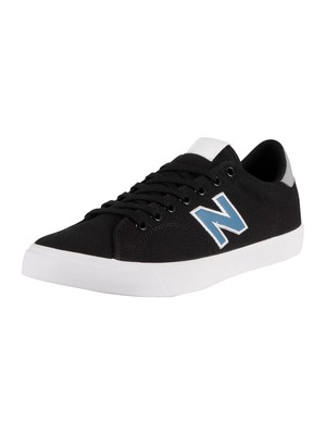 New Balance All Coasts 210 Canvas Trainers - Black/Blue