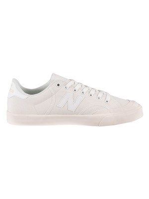 New Balance Pro Court Trainers - White/White