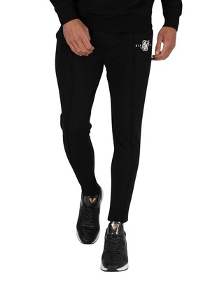 Sik Silk Smart Pleated Joggers - Black
