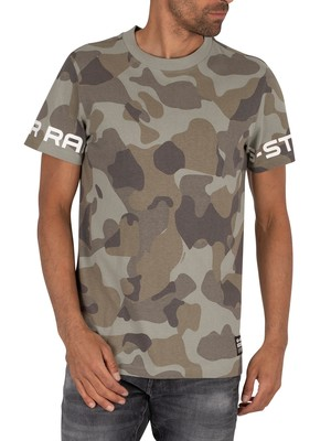 G-Star Camo T-Shirt - Orphus Birch