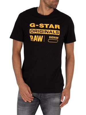 G-Star Graphic 8 T-Shirt - Dark Black