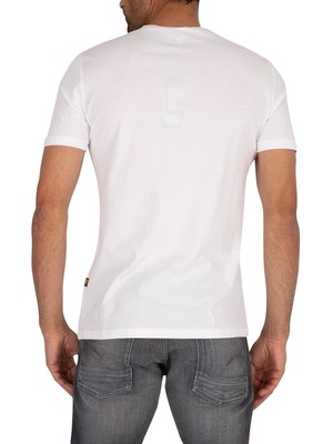G-Star Perspective Logo T-Shirt - White