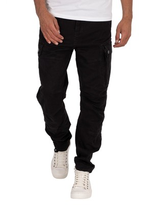 G-Star Roxic Straight Tapered Cargos - Dark Black